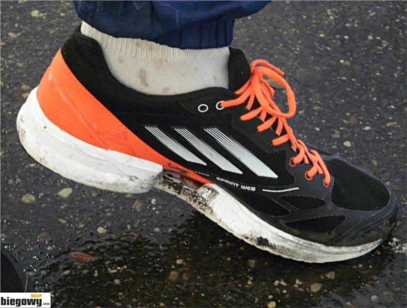 Test butów adidas AdiZero Feather 2 sklepbiegacza.pl