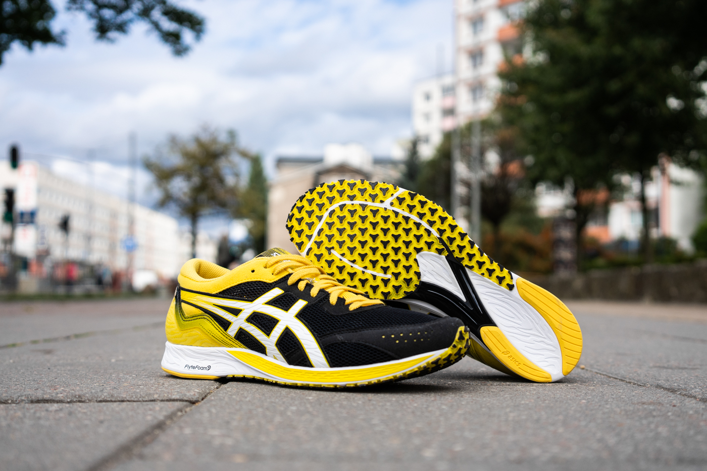 Test butów ASICS Tartheredge