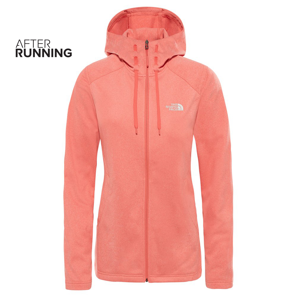 Bluza damska The North Face TECH MEZZALUNA Hoodie rózowa