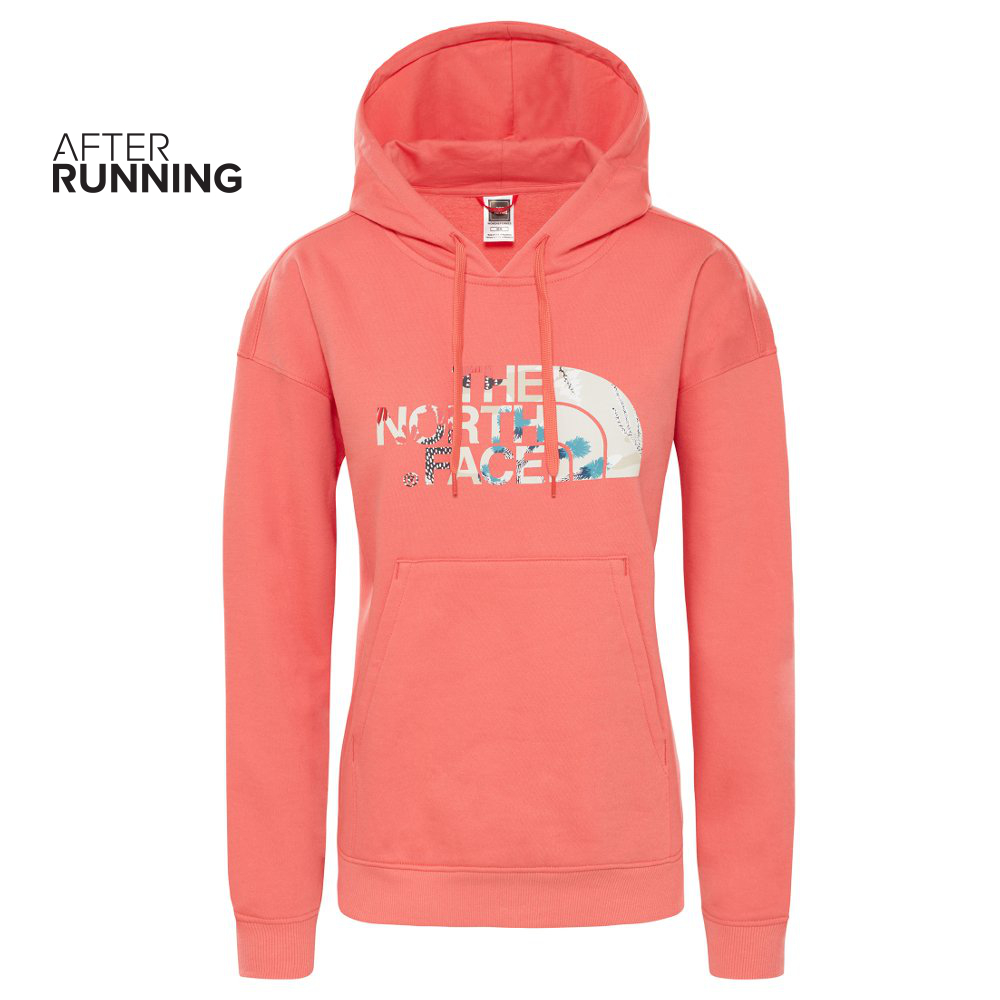 Bluza damska The North Face LIGHT DREW PEAK HOODIE różowa