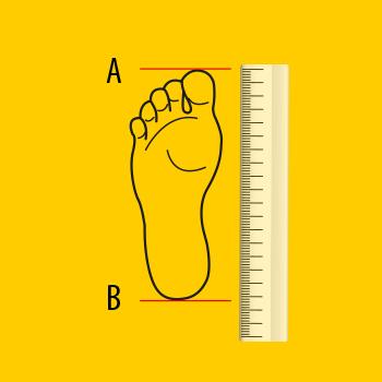 Rozmiarówka butów New Balance