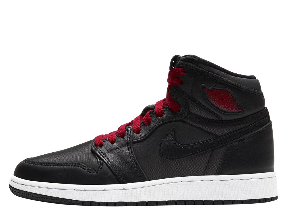"""Air Jordan 1 Retro High OG (GS) """"Black Satin"""" (575441-060) SklepKoszykarza 166999_3.5_193654038922__"""