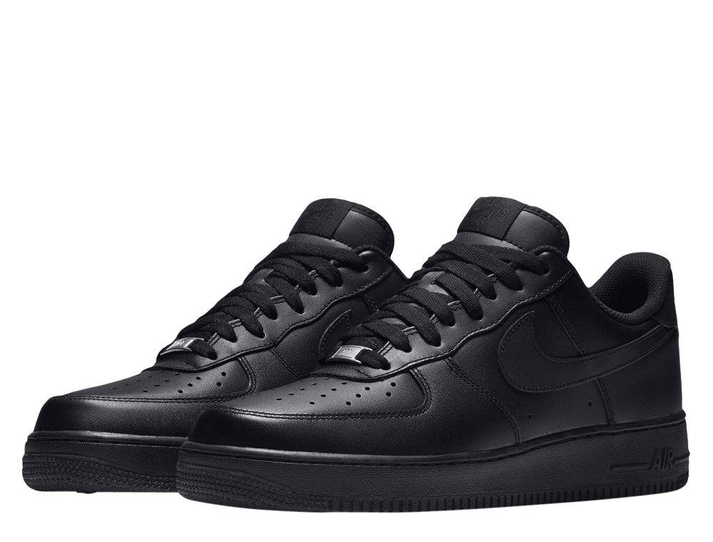 "nike air force 1 low '07 ""all black"" (315122-001)"