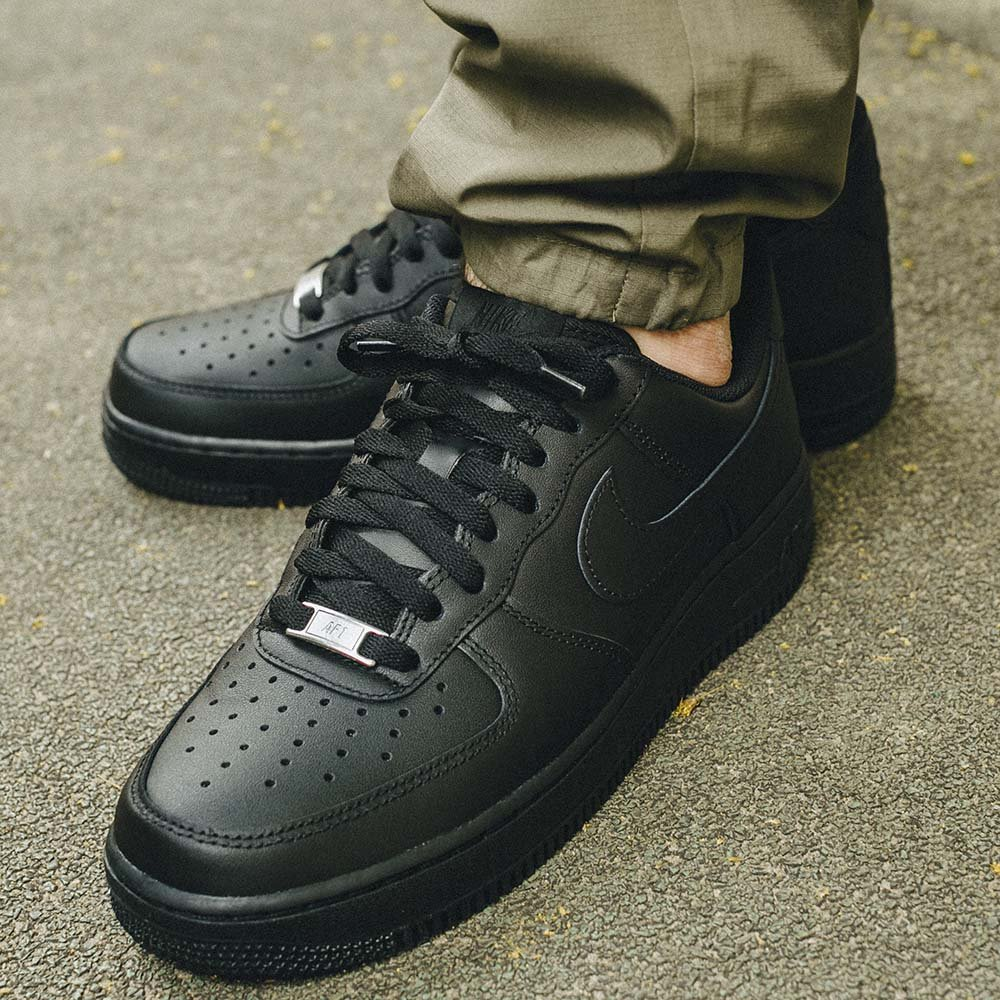 nike air force 1 low 07 męskie czarne (315122-001)