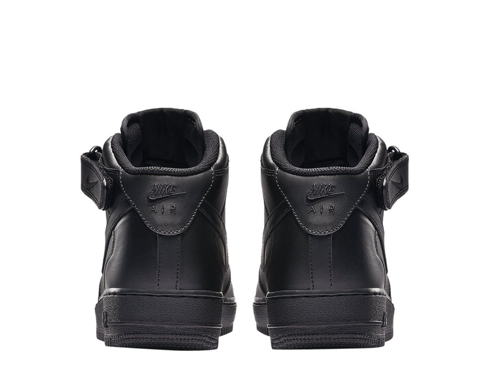 "nike air force 1 mid '07 ""all black"" (315123-001)"