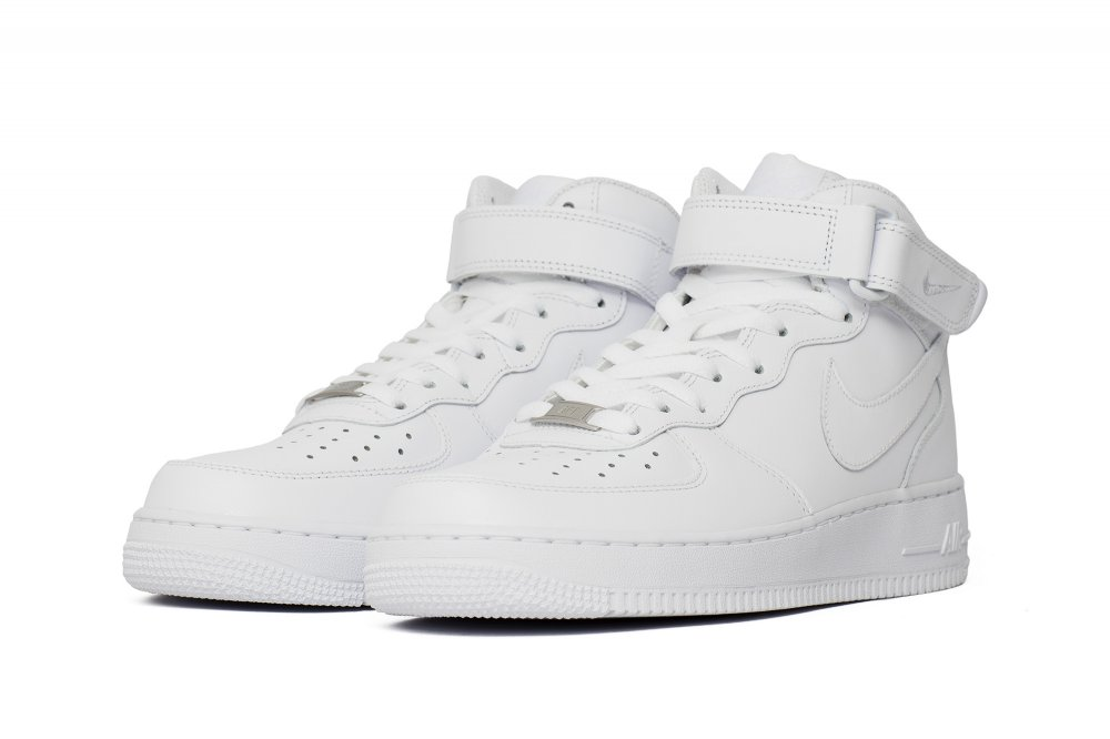 "air force 1 mid '07 ""all white"""