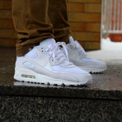 buty sneakers Nike Air Max 90 Essential 537384 111, męskie, Białe