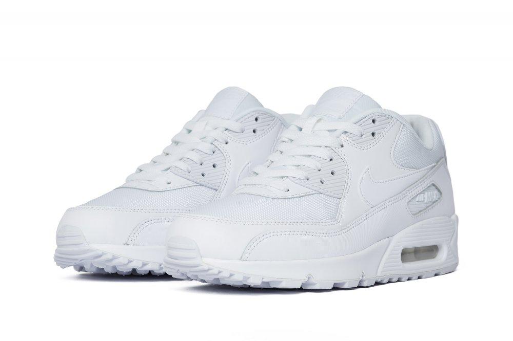 Darmowa dostawa+Buty damskie Nike Air Max 90 Biały Niebieski
