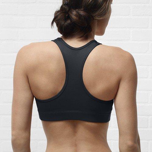 nike pro light support sports bra black