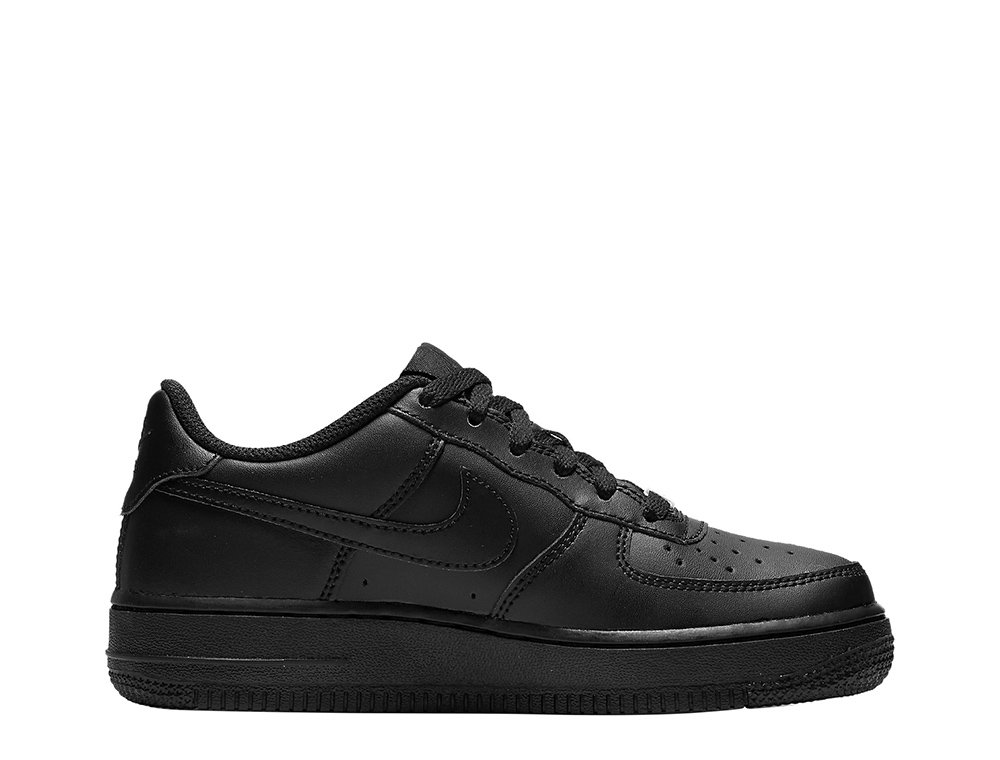 Nike Air Force 1 Low (GS) 'All Black' czarne młodzieżowe