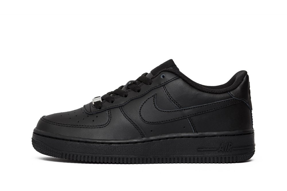 BUTY NIKE AIR FORCE 1 (GS) 314192 009 CZARNE