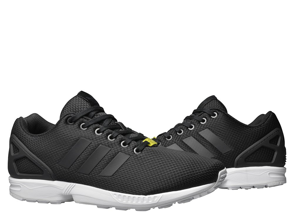 "adidas zx flux base pack ""core black"" czarno-białe"