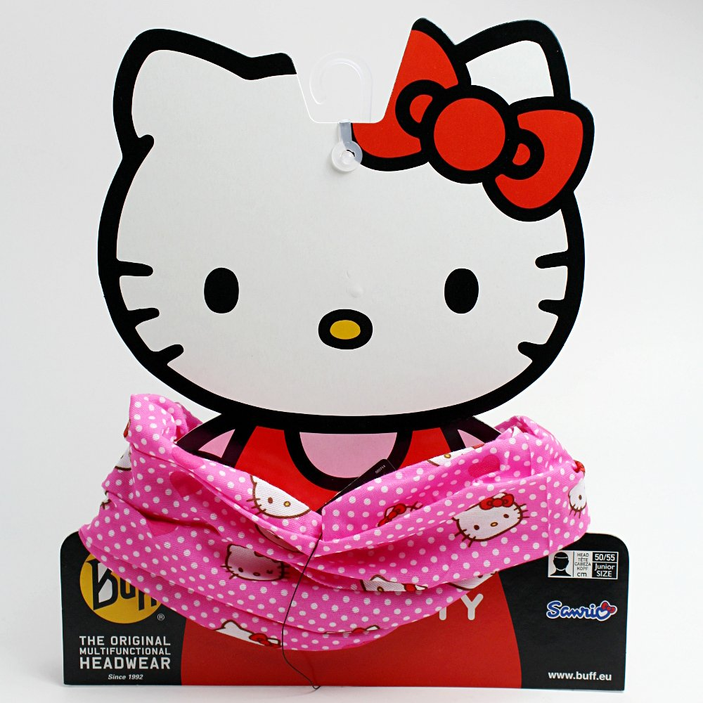 chusta buff original child hello kitty heartsnaddots (buf104707)