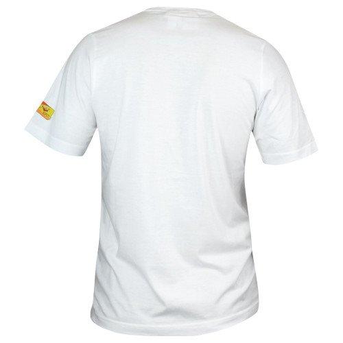 adidas iaaf ab tee junior biała
