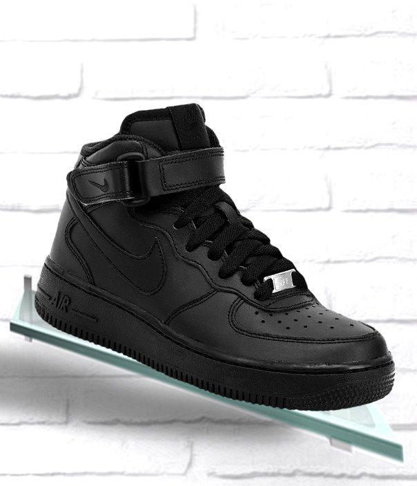 Buty Nike Air Force 1 Mid Gs W 314195 004 czarne
