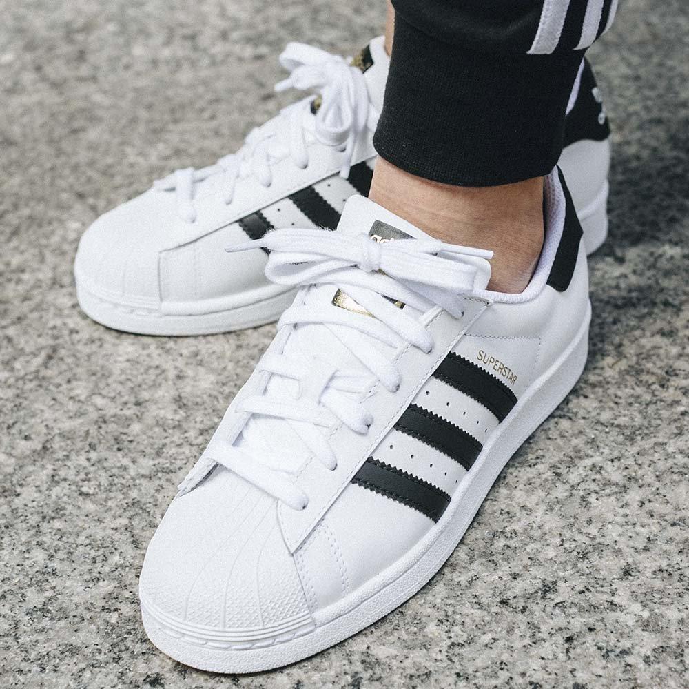adidas superstar młodzieżowe białe (c77154)
