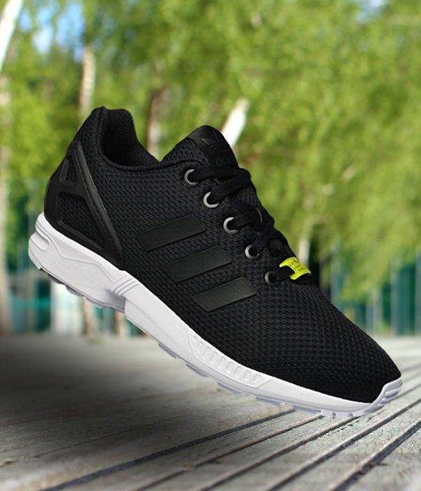 """buty adidas zx flux kids """"color black"""" (m21294)"""