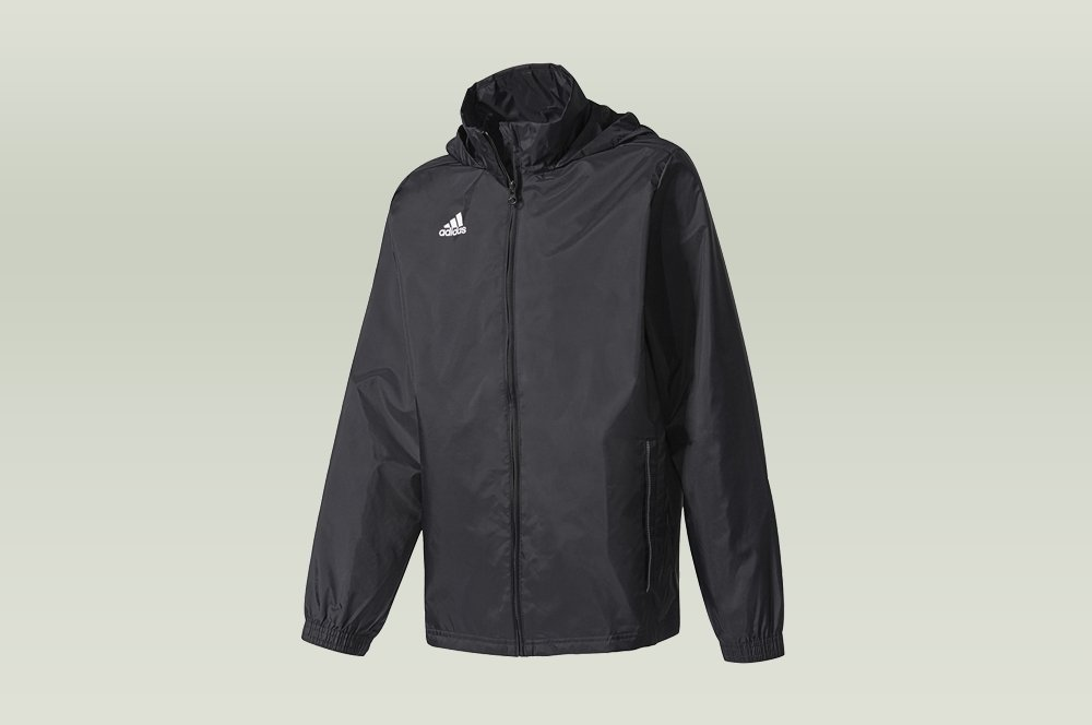 adidas core 15 rain jacket black
