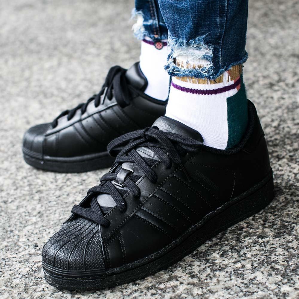 wyprzedaż w sklepie wyprzedażowym szczegóły dla oficjalny sklep Buty adidas Superstar Foundation Kids
