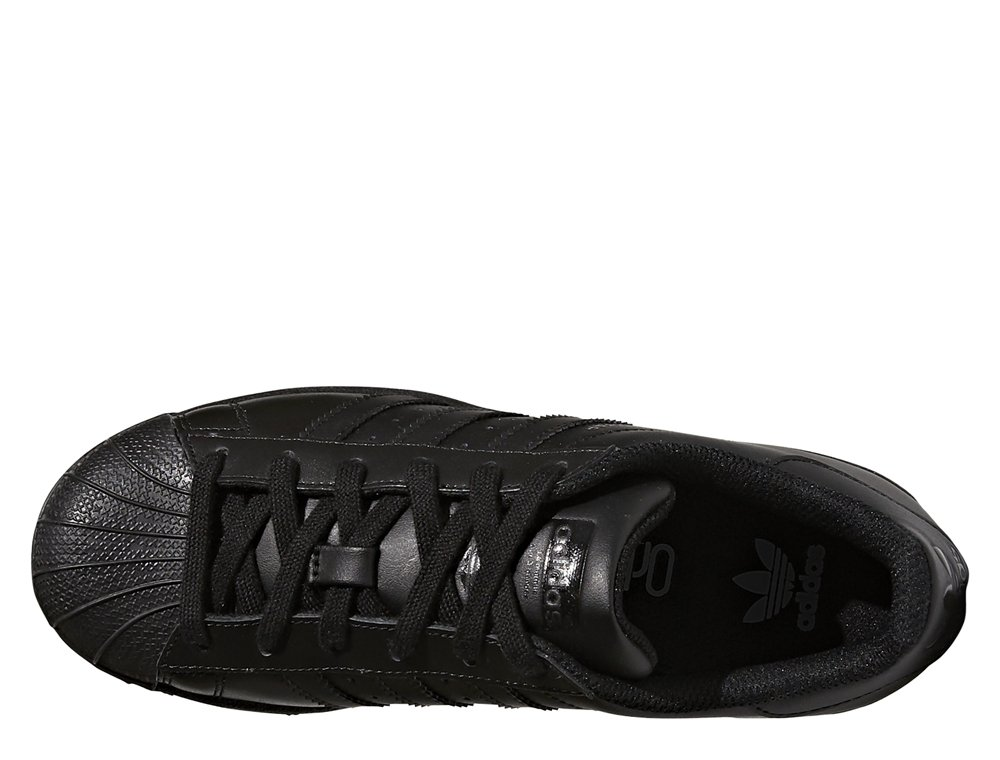 "adidas superstar foundation kids ""core black"" czarne"
