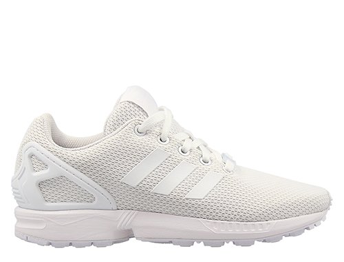 """adidas zx flux kids """"white"""" białe"""