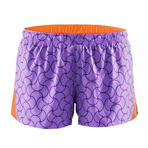 craft focus race shorts w pomarańczowo-fioletowe