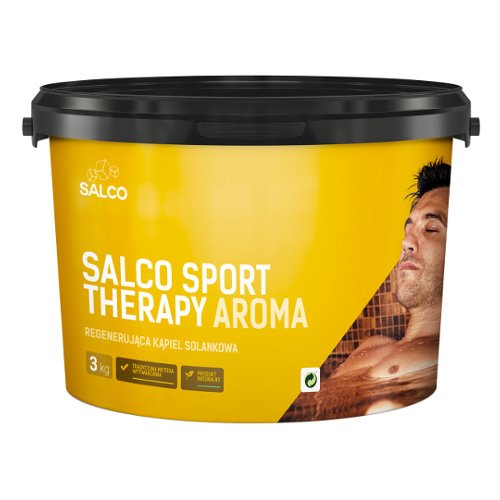 salco sport therapy aroma róża 3 kg
