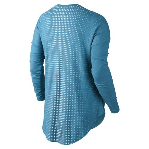 bluzka nike burnout long sleeve tee (642753-413)