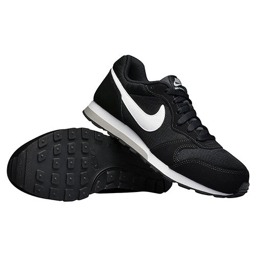 nike md runner 2 (gs) black