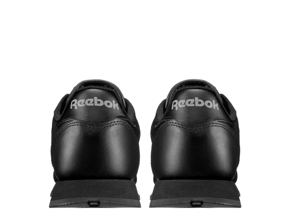 "reebok classic leather ""black"""