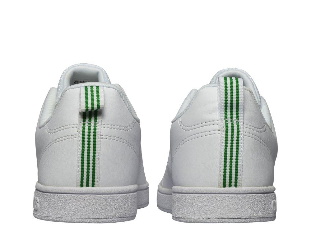 adidas advantage clean vs biało-zielone