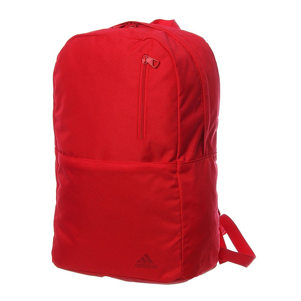 adidas versatile block backpack red
