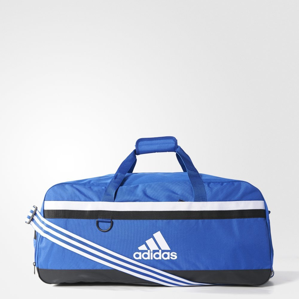 adidas tiro 15 team duffel bag large niebieska