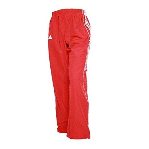 adidas t8 team pant damskie czerwone