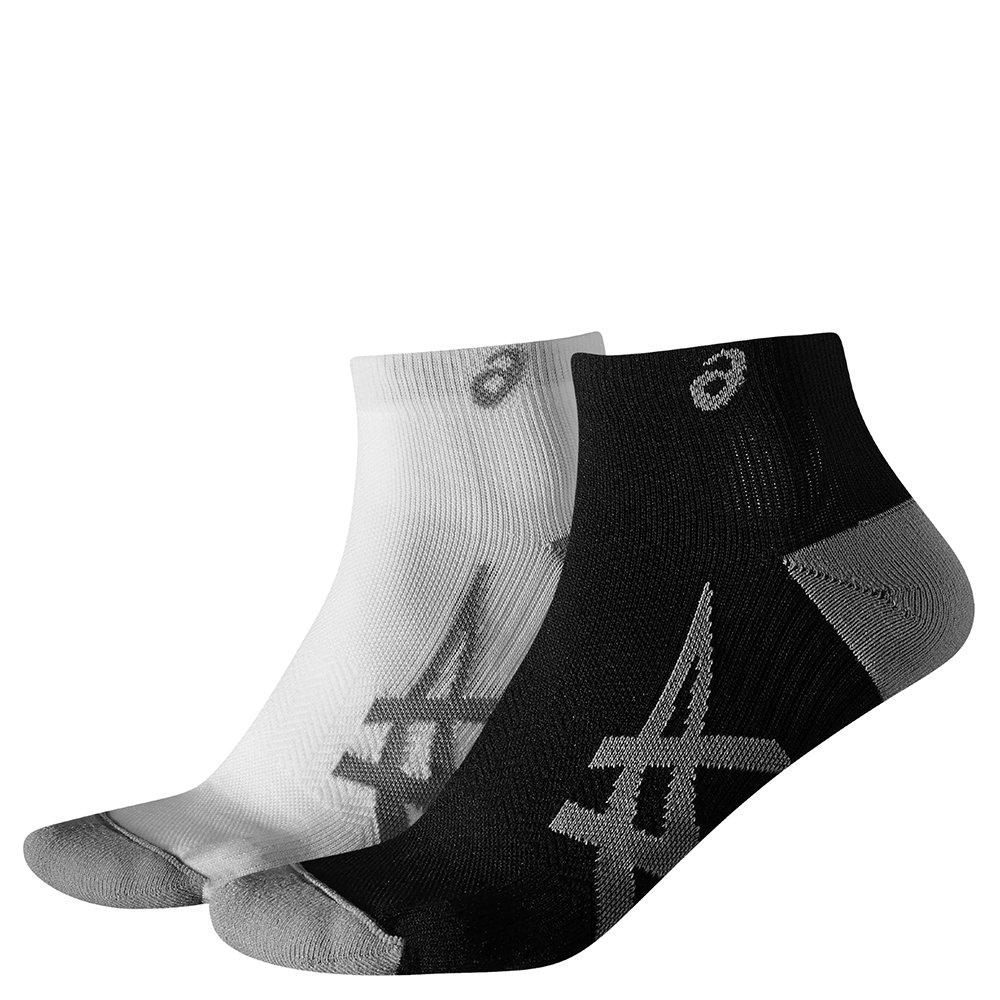 asics 2ppk lightweight sock białe czarne