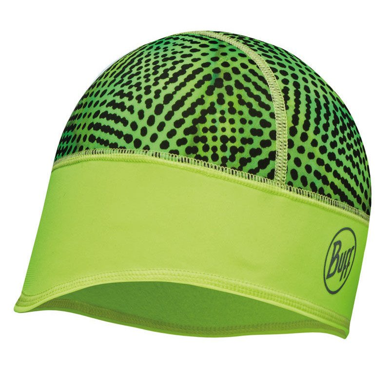 czapka do biegania buff bh tech fleece xyster yellow fluor