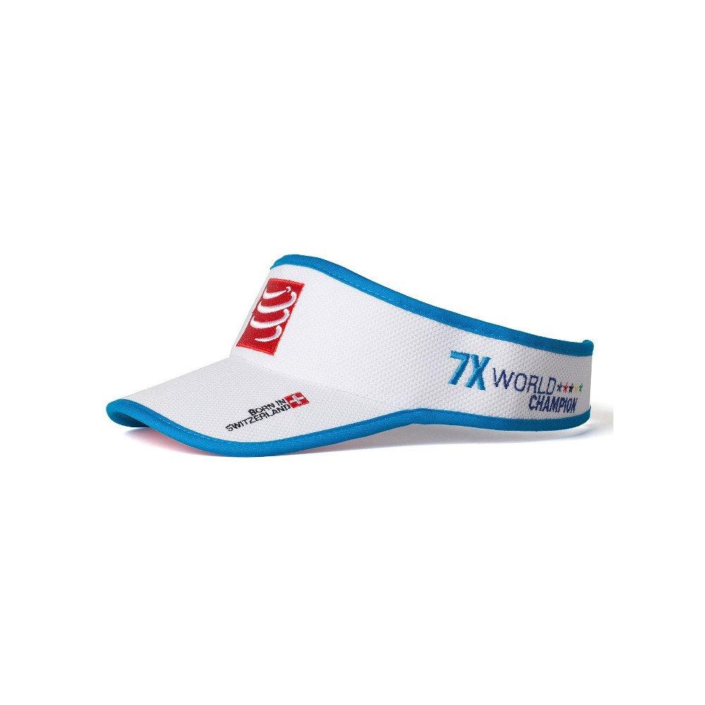 compressport visor v2 biała