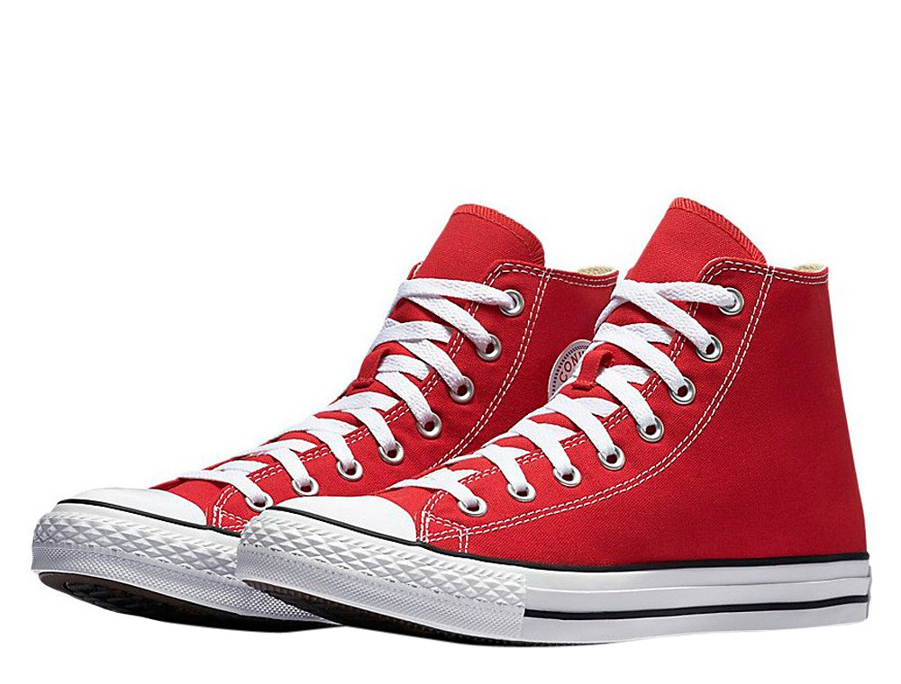 converse chuck taylor all star hi red