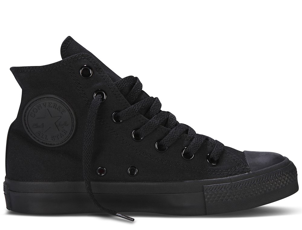 converse chuck taylor all star hi all black