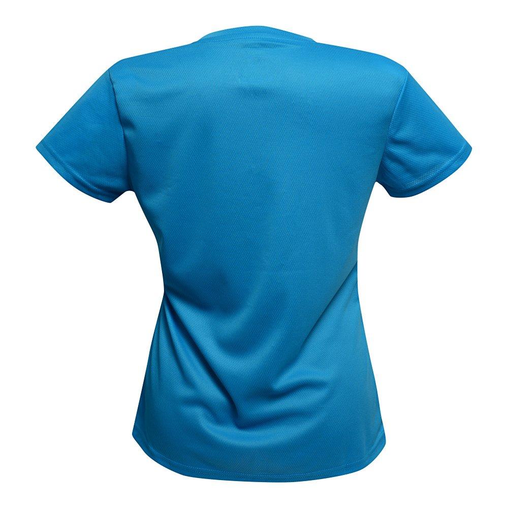 feel&more t-shirt event damska niebieska