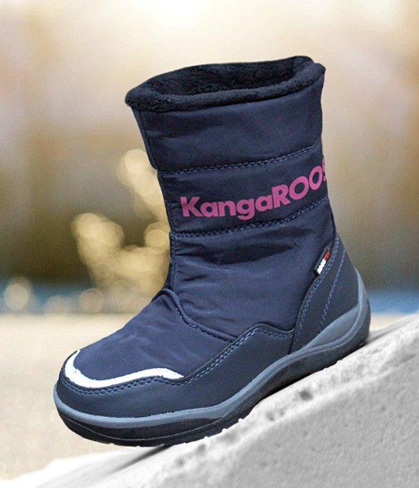 kangaroos cunas granatowo-różowe