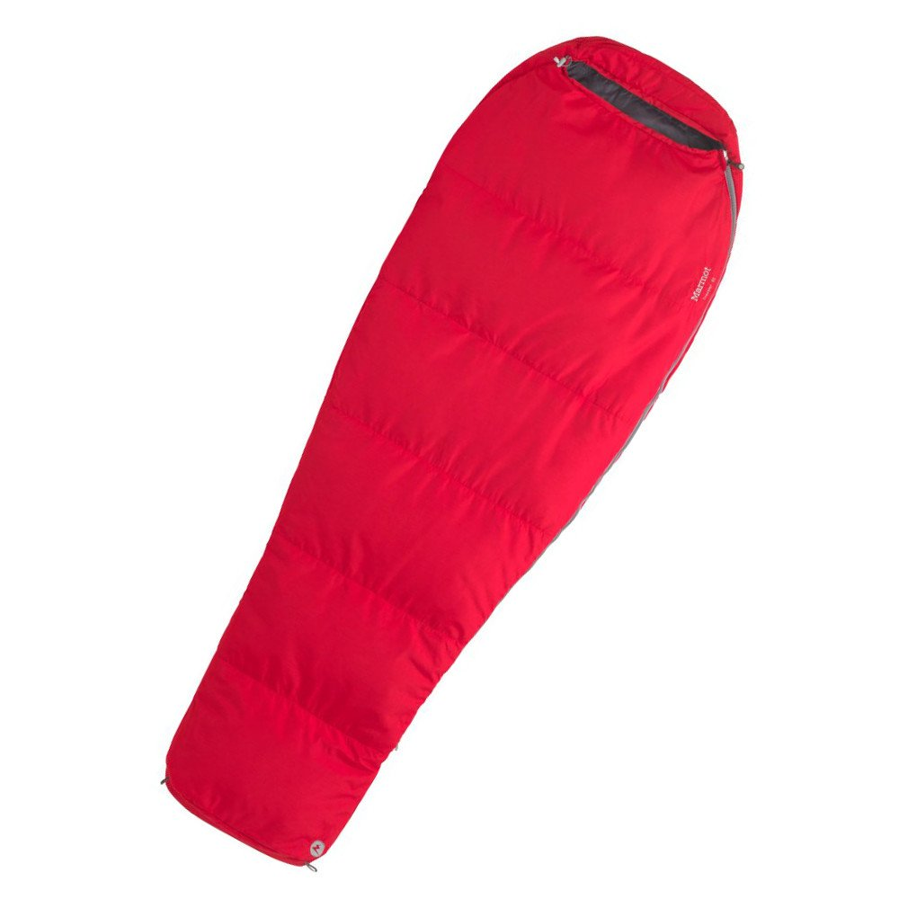 Śpiwór marmot nano wave 45 team red