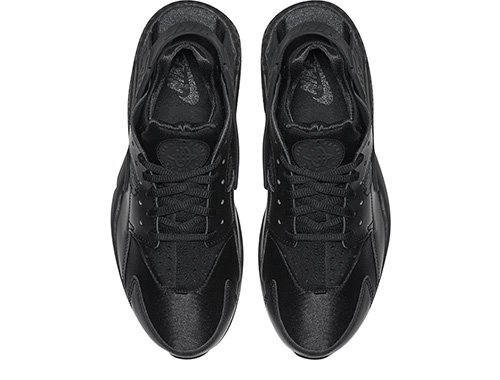 "nike wmns air huarache run ""triple black"" damskie czarne (634835-012)"