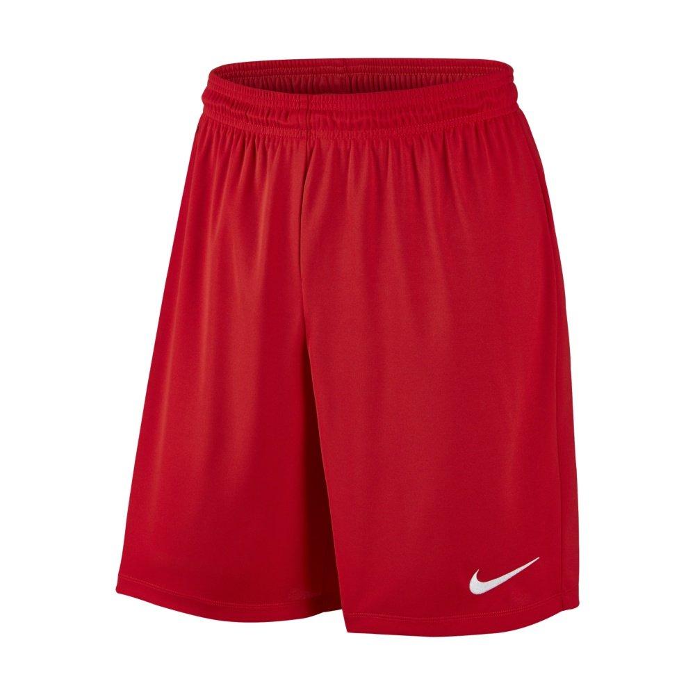 nike park ii knit short wb męskie czerwone