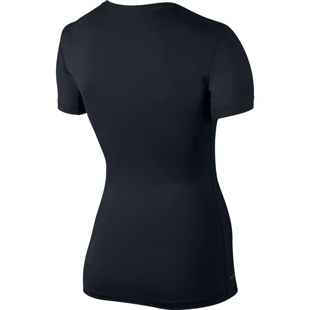nike pro short-sleeve training top black