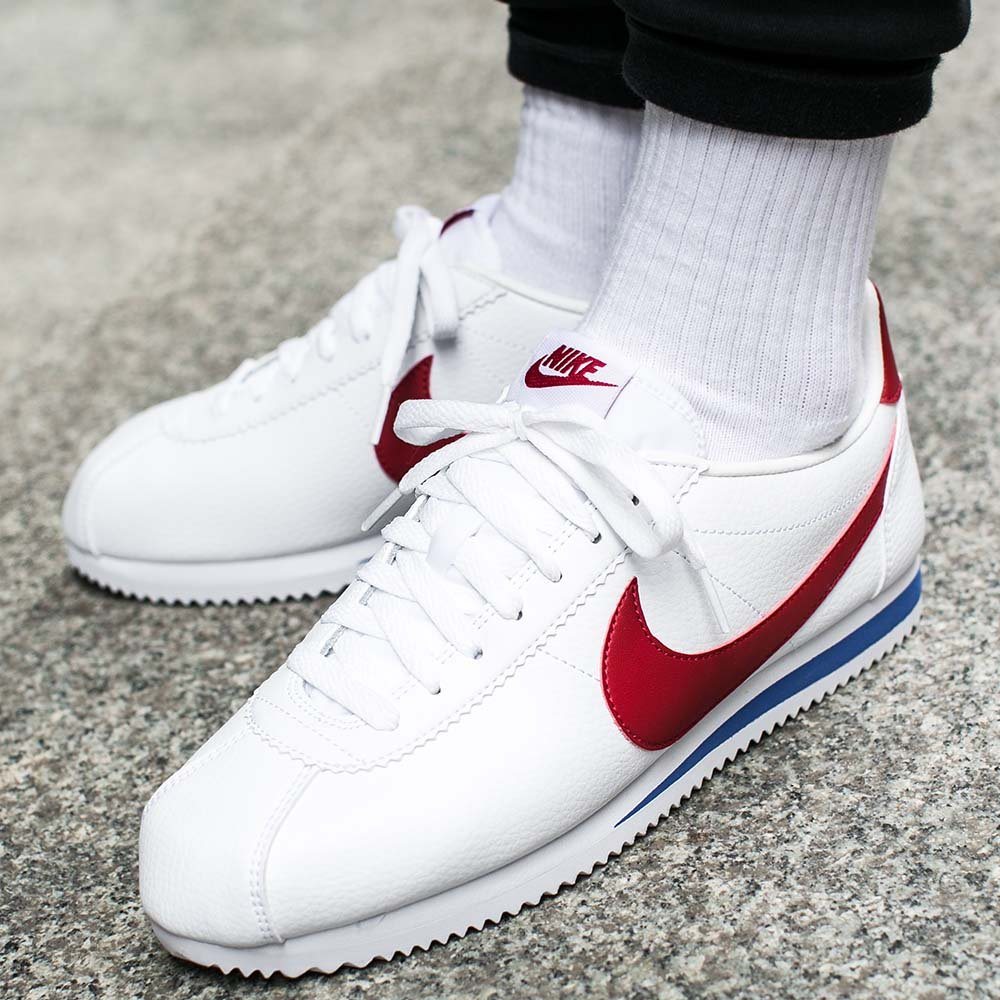 "buty nike classic cortez leather ""forrest gump"" (749571-154)"