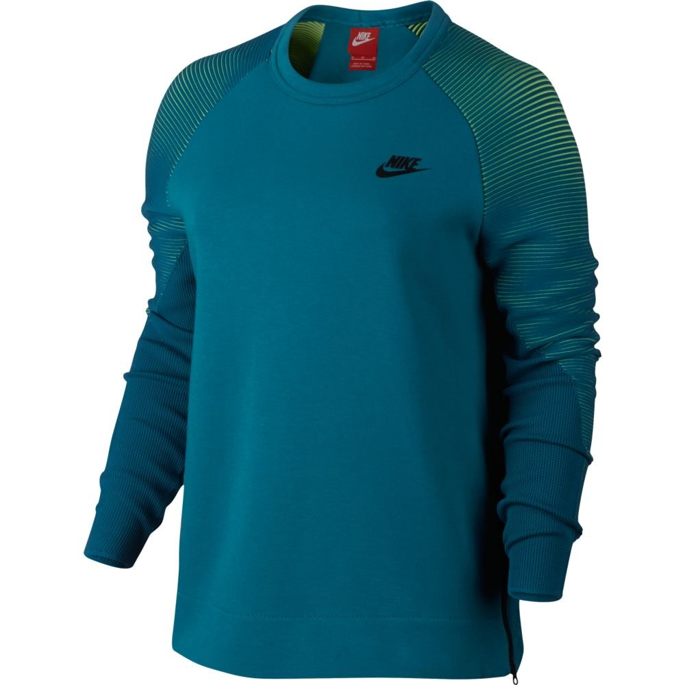 bluzka nike w nsw tech fleece crew (809537-301)
