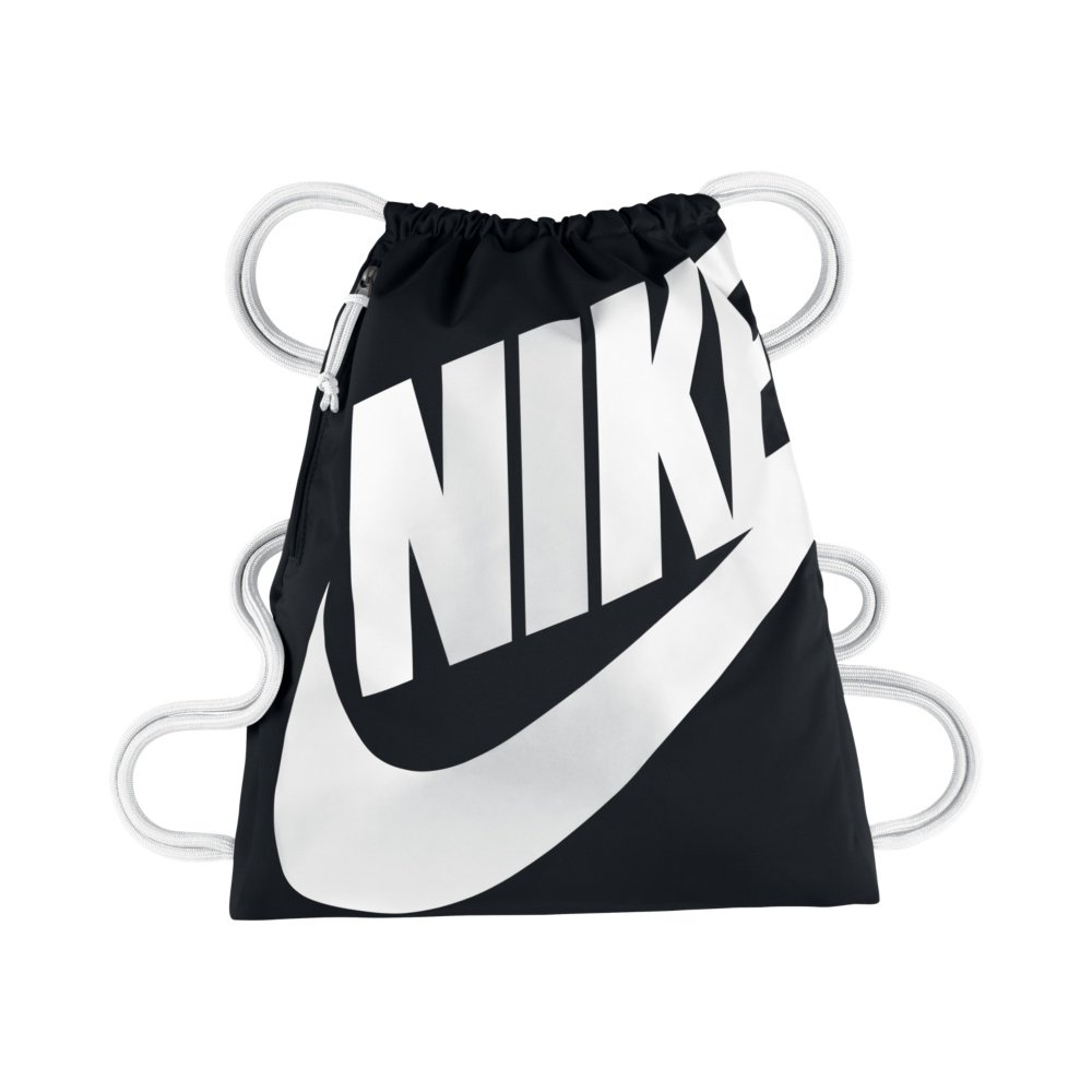 nike sportswear heritage gymsack black