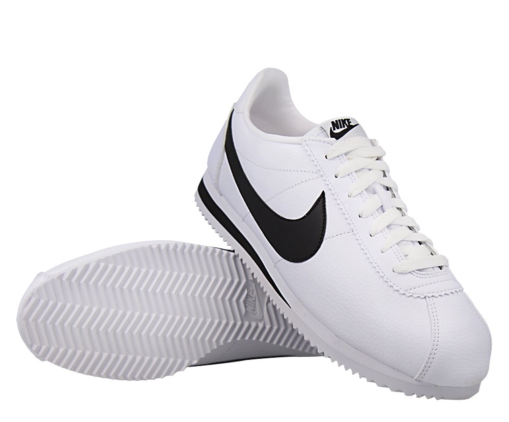 """buty nike classic cortez leather """"white"""" (749571-100)"""
