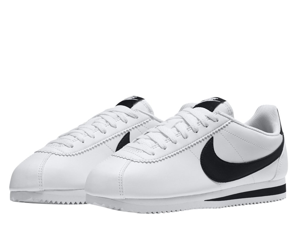 """buty nike wmns classic cortez leather """"white"""" (807471-101)"""
